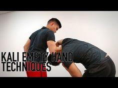 KALI EMPTY HAND TECHNIQUES - YouTube