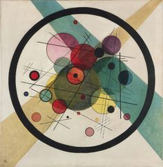 Wassily Kandinsky, Círcles within a Circle. See The Virtual Artist gallery: www.theartistobjective.com/gallery/index.html