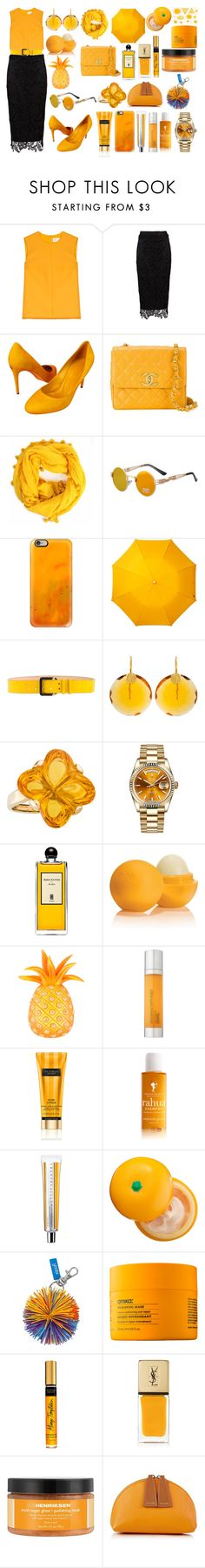 """Sin título #2200"" by magui06 ❤ liked on Polyvore featuring beauty, Victoria, Victoria Beckham, Zibi London, Gucci, Chanel, Bohemia, Casetify, Leighton, Dsquared2 and Kastur Jewels"