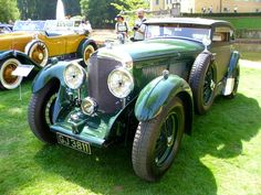 https://flic.kr/p/CE4oMf | Bentley Speed Six Coupé 'Blue Train Special' (Gurney-Nutting) 1930 | Classic Days Schloss Dyck 2015