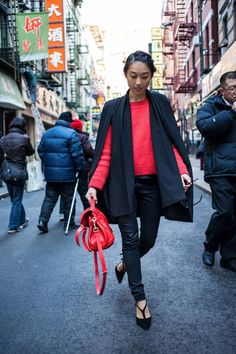 Chinese New York: ???? ( Pants & Scarves )