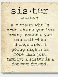 My sissie (: I love her!
