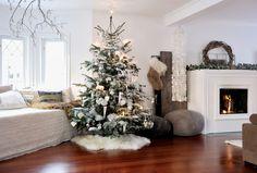 Decoración navideña de estilo nórdico http://ini.es/1M0PJey #DecoracionDeNavidad, #DecoracionNavidad, #NavidadEstiloNordico, #NavidadNórdica