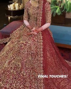 New Bridal Dresses, Pakistani Wedding Dresses, Bridal Outfits, Bridal Gowns, Shadi Dresses, Indian Dresses, Wedding Wear, Dress Wedding, Wedding Ring