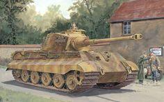 Foto 6303 Pz.Kpfw.  VI Ausf.  B
