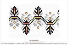Sfatul Batranilor Embroidery Sampler, Folk Embroidery, Cross Stitch Embroidery, Embroidery Patterns, Vintage Cross Stitches, Point Lace, Embroidery Techniques, Beading Patterns, Pixel Art