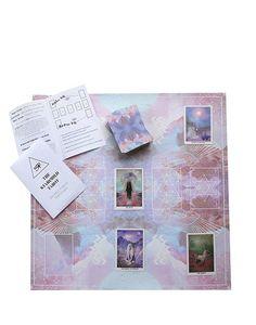 SACRED FORMS Tarot Mat + FREE Tarot journal – The Starchild Tarot
