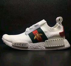 save off bc309 de75b Image of Adidas nmd custom gucci inspired