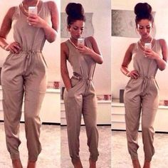 Sexy Women Ladies Summer Clubwear Playsuit Party Jumpsuit&Romper Long Trousers #Unbranded #Jumpsuit