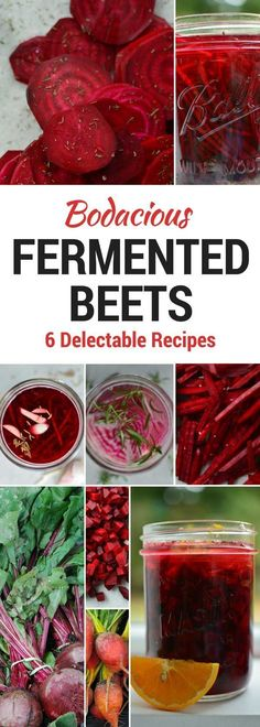How to make naturally fermented beets in 6 delectable flavors. Easy to make. No vinegar. No canning. Tips Tricks for successful fermentation. via MakeSauerkraut! [Fermentation Tips, Tricks Tools] Fermentation Recipes, Canning Recipes, Canning Tips, Kombucha, Fermented Beet Recipe, How To Make Fermented Foods, Superfood, Probiotic Foods, Mets