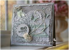EwenStyle: Vintage Card Cafe...So Happy For You