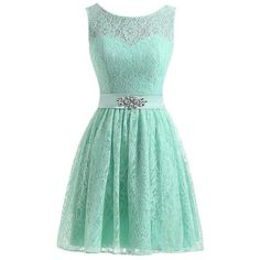 MMJULY Women's Floral Lace Beaded Short Prom Dress Bridesmaid Dresses (205 RON) ❤ liked on Polyvore featuring dresses, short lace dress, beaded prom dresses, floral prom dresses, prom dresses and homecoming dresses