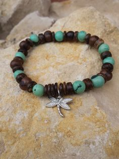 Check out this item in my Etsy shop https://www.etsy.com/uk/listing/244394265/dragonfly-charm-bracelet-acai-bracelets