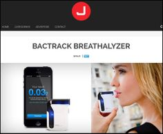 Tech and device blog, Jebiga, reviewed the BACtrack Mobile Breathalyzer recently, accentuating some its finer points as a breath alcohol detector with above average capabilities.