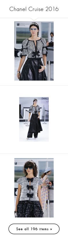 """""""Chanel Cruise 2016"""" by sylandrya ❤ liked on Polyvore featuring dresses, chanel, home, kitchen & dining, bracelets, jewelry, joyas, jumpsuits, brooches and enamel jewelry"""