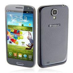 iNew i7000 Android 4.2 Smartphone Dual SIM MTK6589 Quad Core 1GB RAM 16GB 5.0 Inch HD Screen 12.0MP - Dark Blue