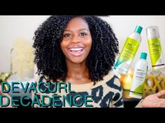 DevaCurl Decadence Review + Supercream and Arc Angel - YouTube