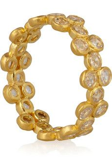 Deal: Marie-Helene De Taillac gold diamond ring $8,300 | via net-a-porter