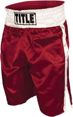 Title Boxing Professional Boxing Trunks mma muay thai martial arts training #TITLEBoxing