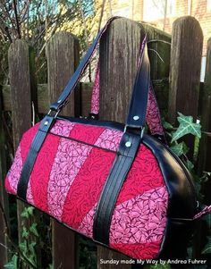 Sunday Bag FREE Pattern - https://sewing4free.com/sunday-bag-free-pattern/