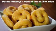 Potato Smileys Recipe 😀😀 Homemade Easy Potato Smiley Recipe   Make and F...