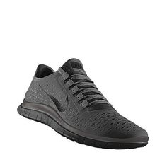 NIKE Free Run iD in matte black! I need these terribly