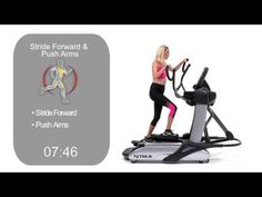 Sample of TRUE's Cardio 360 workout on the new Spectrum.