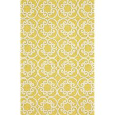 Feizy Hastings Maize 5 ft. x 8 ft. Indoor/Outdoor Area Rug-6154247FMAZ000E10 - The Home Depot
