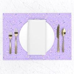 Home Decor - Placemats Paper Clip Art, Digital Papers, Paint Splatter, Lilac, Scrapbook, Group, Board, Creative, Happy
