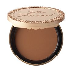 NEW! Dark Chocolate Soleil Deep/Tan Matte Bronzer - Too Faced Selfie Summer 2015! $30.00 Bronzing has never been so delicious. Inspired by our best-selling Chocolate Soleil Bronzer, we created Dark Chocolate Soleil for a richer, deeper matte bronze that indulges your skin in antioxidant-rich cocoa powder. Our shimmer-free, deep/tan matte bronzer is perfect for more sculpted contouring, creating a more dramatic, deep matte bronzed look. It's decadent chocolate scent smells as good as it…
