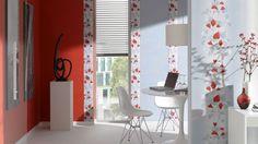 Adoration - Tapeten mit zarten Mustern in frischen Farben