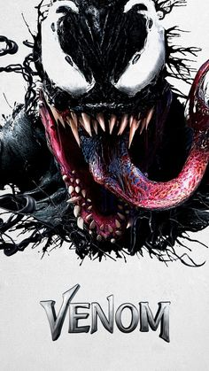 """You are watching the movie Venom on Putlocker HD. When Eddie Brock acquires the powers of a symbiote, he will have to release his alter-ego """"Venom"""" to save his life. Marvel Comics, Venom Comics, Marvel Venom, Marvel Villains, Marvel Art, Marvel Avengers, Cartoon Wallpaper Hd, Marvel Wallpaper, Mobile Wallpaper"""