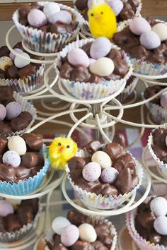 Rocky Road Easter Nests