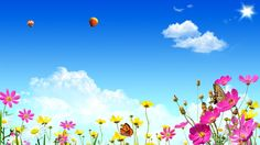 Butterfly And Flower Wallpaper Free Download