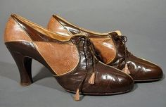 Early 1930's Salvatore Ferragamos ~ still beautiful after all these years.