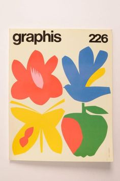 Graphis No 226 - Results - Search Objects - eMuseum Museum of Design . Graphic Design Posters, Graphic Design Illustration, Graphic Design Inspiration, Graphic Art, Illustration Art, Book Design, Cover Design, Design Art, Poster Layout