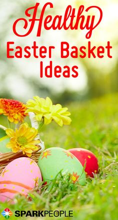 Running low on Easter basket ideas? Ditch the chocolate bunnies and try some of these healthy Easter gifts instead.