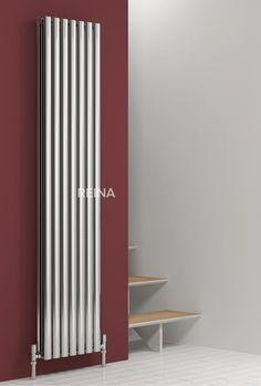 REINA NEROX STAINLESS STEEL VERTICAL DESIGNER RADIATORS