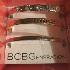 BCBG Bracelet SET OF 3 BRacelet gift set brand new in box gift set BCBGeneration Jewelry Bracelets