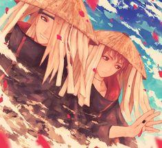 Find images and videos about anime, naruto and arte on We Heart It - the app to get lost in what you love. Sasori And Deidara, Deidara Akatsuki, Inojin, Itachi Uchiha, Naruto Family, Naruto Couples, Boruto Naruto Next Generations, Naruto Fan Art, Anime Naruto