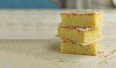 Lemon Drizzle Cake Traybake