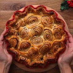 Cinnamon Swirl Apple Pie #Twisted #TwistedFood