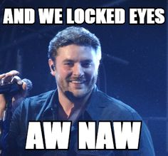 Enter the Chris Young MEME Generator contest! Make MEMEs with your own pics or Chris' and you could win a signed copy of your creation and a phone call from Chris! Check out Chris Young or Chris Young Vote & Promote Page on FB or Chris Young's Twitter account @chrisyoungmusic