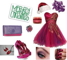 """Christmas date"" by carolwatergirl on Polyvore"