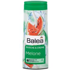 Balea Dusche & Creme Melone, Dusche im dm Online Shop günstig kaufen. After Sun, Dm Online Shop, Pretty Snakes, Dm Balea, Shower Gel, Skin Care, Cosmetics, How To Make, Make Up