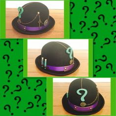 Another entry that exemplifies my girlfriend's infinite imagination into our cosplay adventure for 2016 Tampa Bay Comic Con!  What would a Steampunk DC comics Riddler be without his bowler hat? That isn't a riddle or anything. Just me talking.  My girlfriend makes my nerdy world go round.