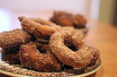 Homemade Buttermilk Doughnuts for National Doughnut Day >> http://blog.diynetwork.com/maderemade/2015/11/05/homemade-buttermilk-doughnuts-for-national-doughnut-day/?soc=pinterest