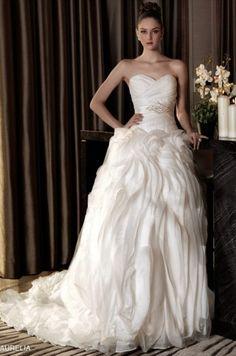 Wedding dress Designed by Aurelia