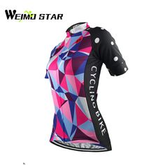 b62be4d35 Weimostar 2017 Women s Cycling Jersey Pro Team Sports Short Sleeve Clothing