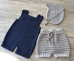 Ravelry: Romper/Shorts/Helmet - (C) pattern by OGE Knitwear Designs Layette Pattern, Romper Pattern, Baby Knitting Patterns, Knitted Baby Clothes, Crochet Bebe, Baby Pants, Baby Sweaters, Patterned Shorts, Knitwear